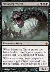 MTG Card: Massacre Wurm