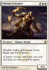 MTG Card: Mirran Crusader