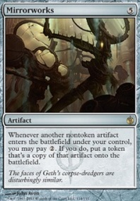 MTG Card: Mirrorworks