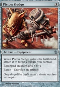 MTG Card: Piston Sledge