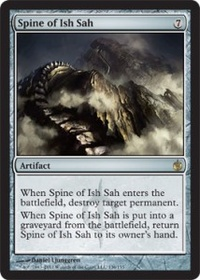 MTG Card: Spine of Ish Sah