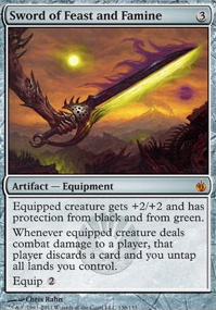 MTG Card: Sword of Feast and Famine