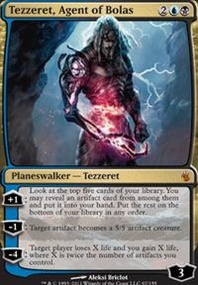 MTG Card: Tezzeret, Agent of Bolas