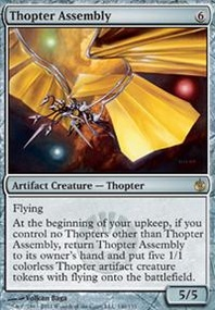 MTG Card: Thopter Assembly