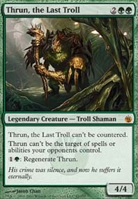 MTG Card: Thrun, the Last Troll