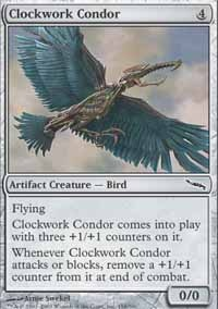 MTG Card: Clockwork Condor