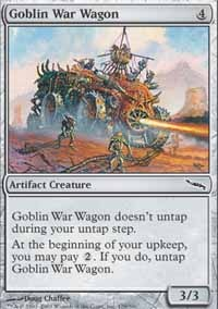 MTG Card: Goblin War Wagon