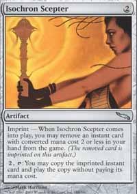 MTG Card: Isochron Scepter