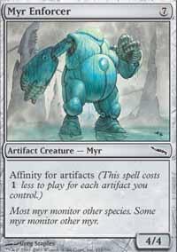 MTG Card: Myr Enforcer