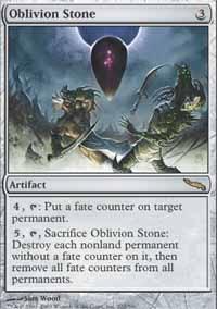 MTG Card: Oblivion Stone