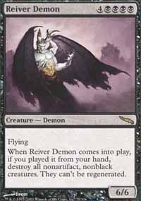MTG Card: Reiver Demon
