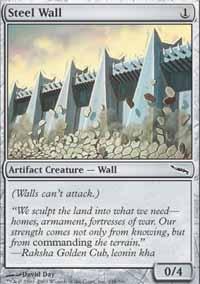 MTG Card: Steel Wall