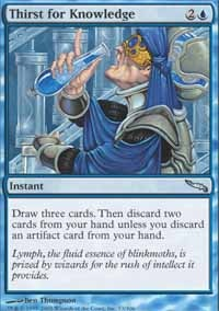 MTG Card: Thirst for Knowledge
