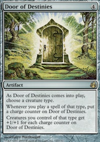 MTG Card: Door of Destinies