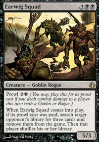 MTG Card: Earwig Squad