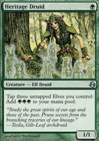 MTG Card: Heritage Druid