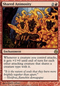 MTG Card: Shared Animosity