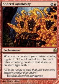 MTG Card: Shared Animosity