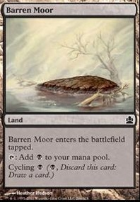 MTG Card: Barren Moor