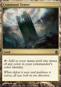 MTG Card: Command Tower