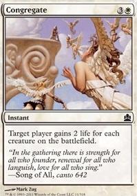 MTG Card: Congregate