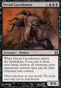 MTG Card: Dread Cacodemon