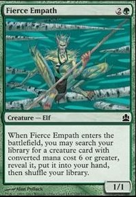 MTG Card: Fierce Empath