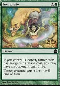 MTG Card: Invigorate