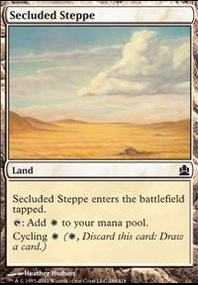 MTG Card: Secluded Steppe