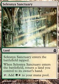MTG Card: Selesnya Sanctuary