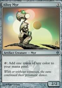 MTG Card: Alloy Myr