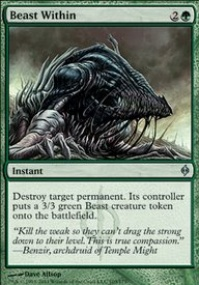 MTG Card: Beast Within