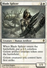 MTG Card: Blade Splicer