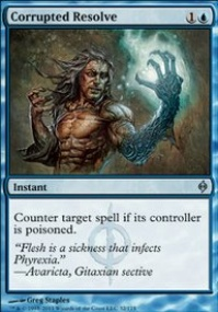 MTG Card: Corrupted Resolve