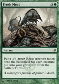 MTG Card: Fresh Meat