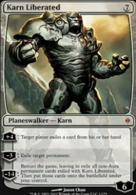 MTG Card: Karn Liberated