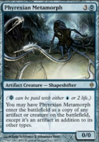 MTG Card: Phyrexian Metamorph
