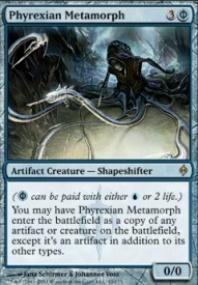 MTG Card: Phyrexian Metamorph