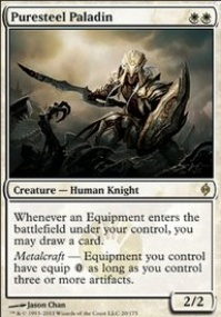 MTG Card: Puresteel Paladin