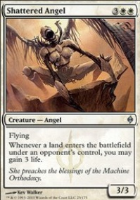 MTG Card: Shattered Angel