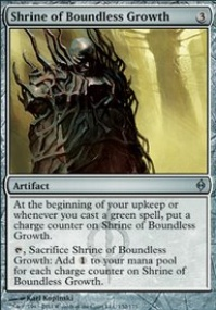 MTG Card: Shrine of Boundless Growth