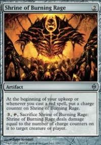 MTG Card: Shrine of Burning Rage