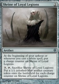 MTG Card: Shrine of Loyal Legions