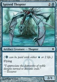 MTG Card: Spined Thopter