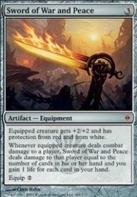 MTG Card: Sword of War and Peace
