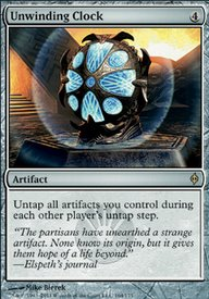 MTG Card: Unwinding Clock