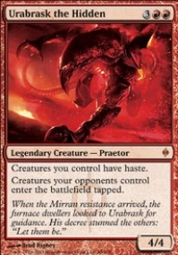 MTG Card: Urabrask the Hidden