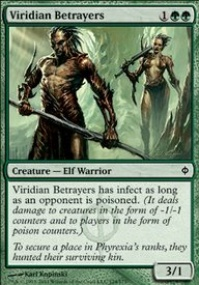 MTG Card: Viridian Betrayers