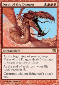 MTG Card: Form of the Dragon