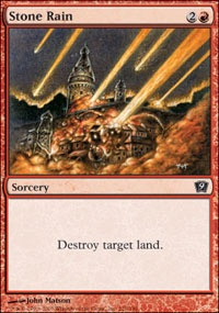 MTG Card: Stone Rain